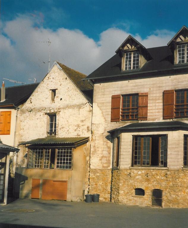 Ecole Notre Dame refectoire exterieur 1988 - 1989