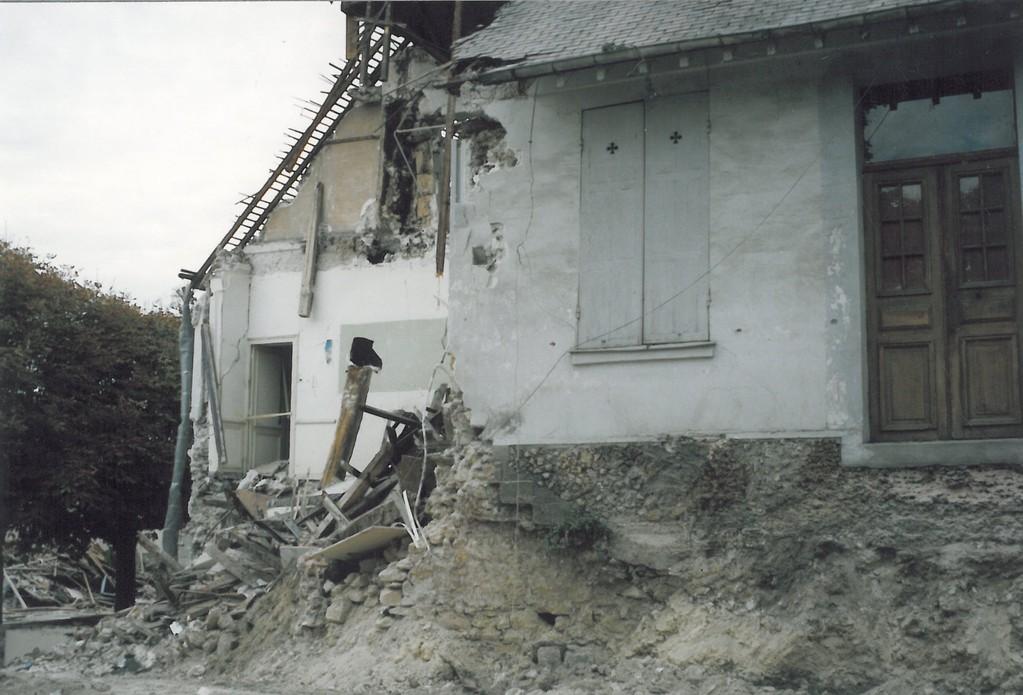 Ecole Notre Dame destruction  1 octobre 1990
