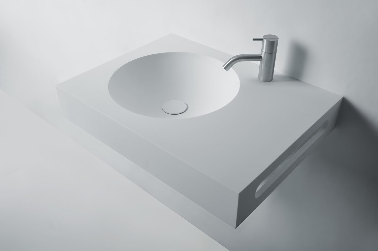 129-280285 SolidNEXT washbasin 600x450x100 mm