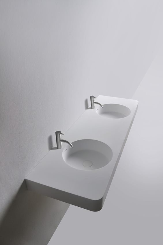112-284224 SolidBRIO washbasin 1500x480x140mm