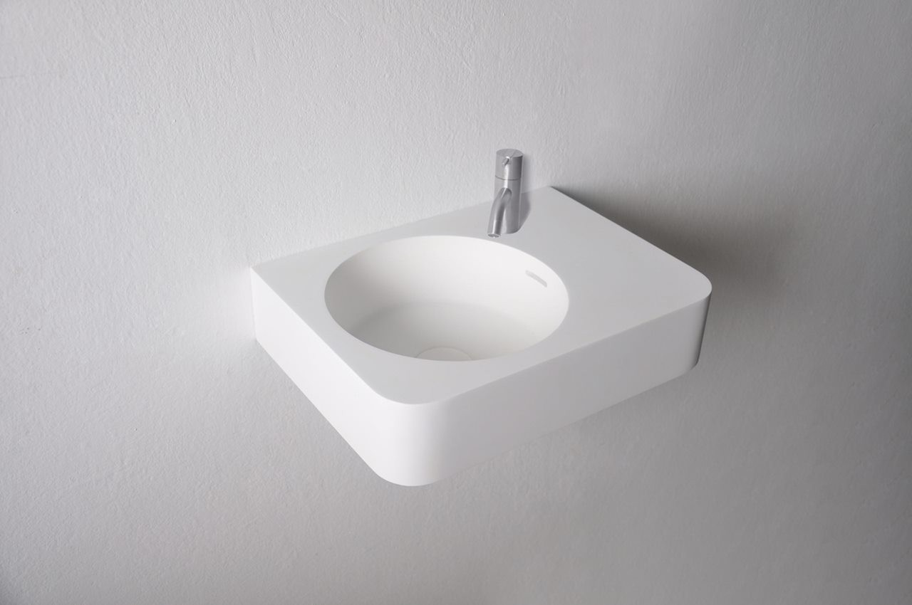 133-284223 SolidBRIO washbasin 450x330x140 mm