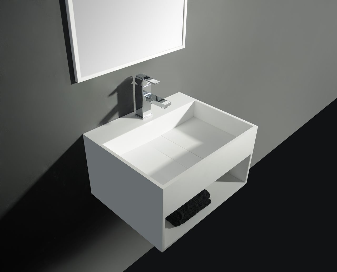 119-278395 SolidCUBE washbasin 600x460x300mm
