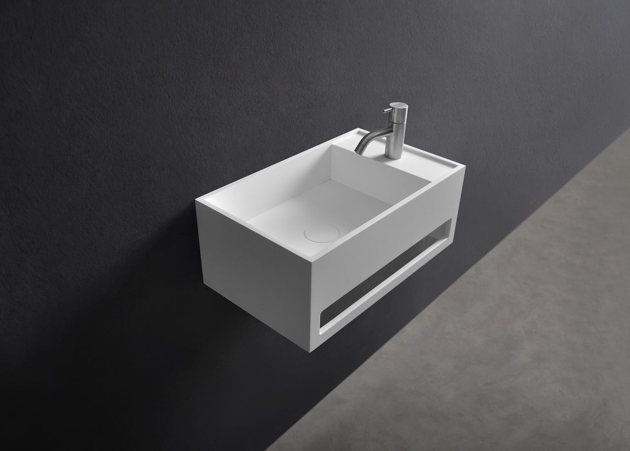 115-277033 SolidCUBE washbasin 500x300x200mm