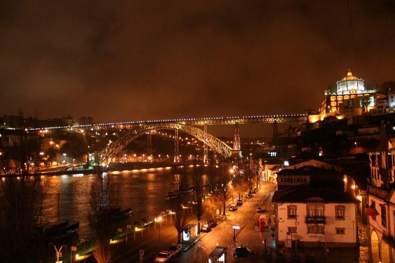 ドウロ川にかかるポルトのシンボル的なドン・ルイス1世橋