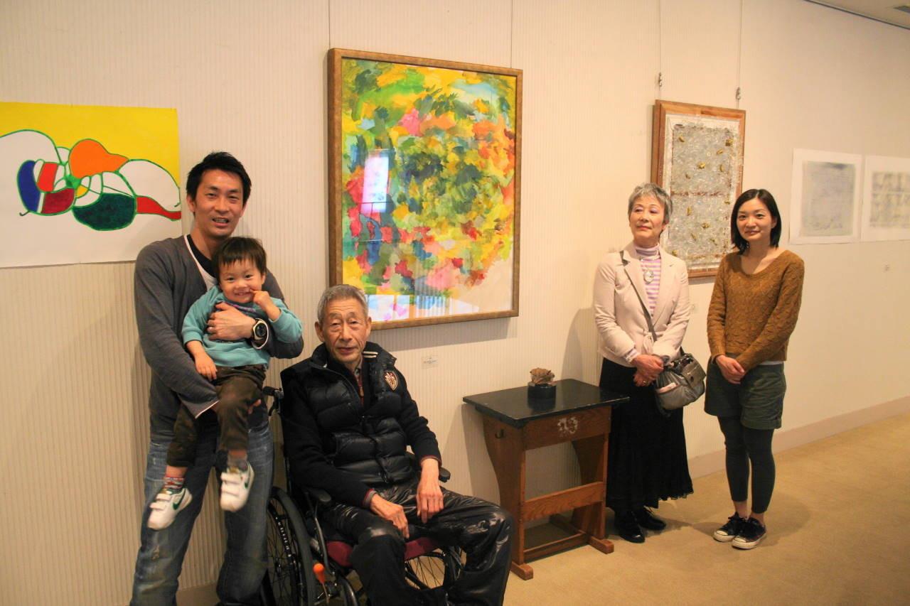 福原氏とご一緒に長崎を訪問されたご家族
