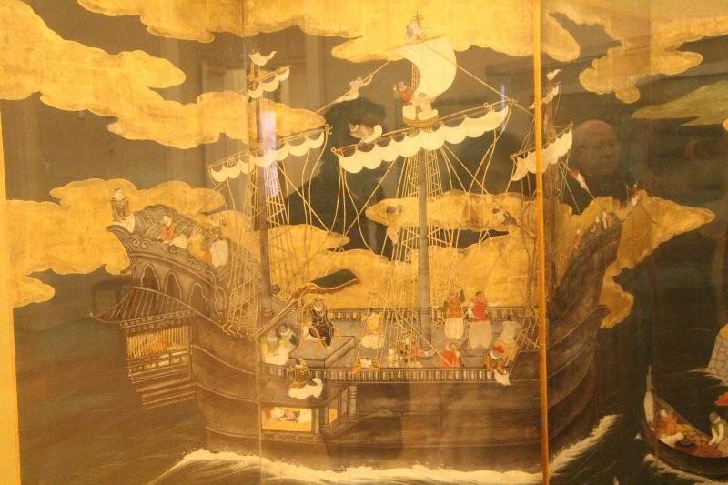 大航海時代の南蛮船