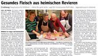 Presse - Gesundes Fleisch aus heimischen Revieren