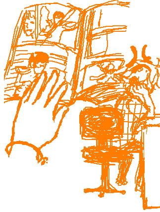 ギャグマンガ日和2 第6話より 「ソードマスターヤマト」パロ 4