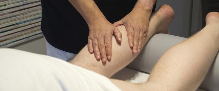Lymphdrainage Unterschenkel