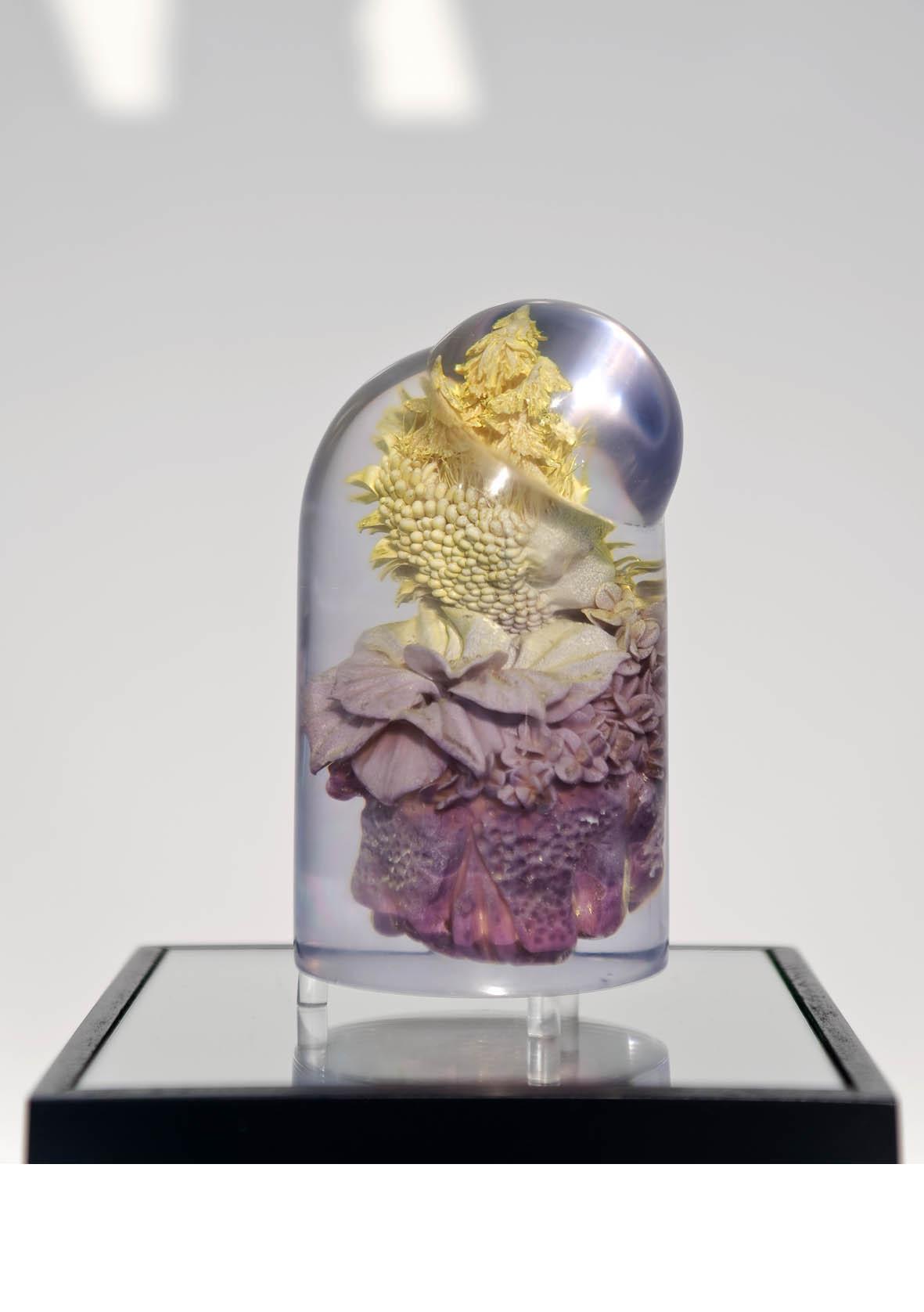 Treetop-Plopp 3, 2016, polymer, polymeric resin, color, 12x7x7cm (Foto: Andreas Baudisch/ Galerie Gerken, Berlin)