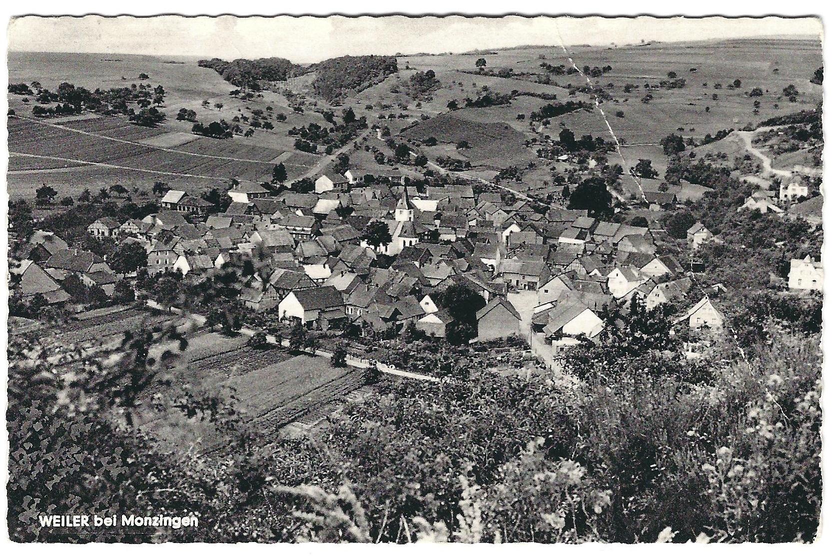 Weiler fotografiert von der Hardt
