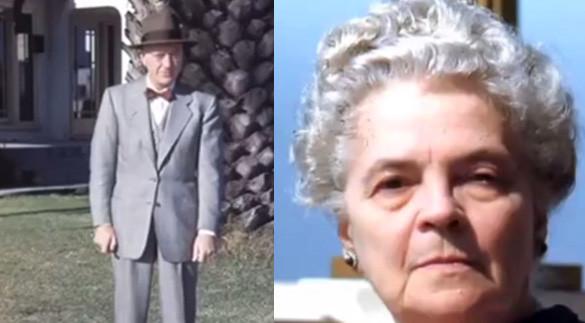 Bernard e Hilda Blair Ray (Image Credits: TercerMilenio.tv)