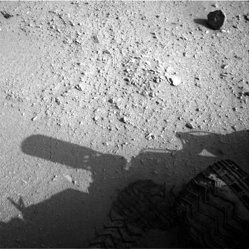 Navcam: Left A 2012-09-26 14:00:36 UTC (Image Credits: NASA/JPL-Caltech)