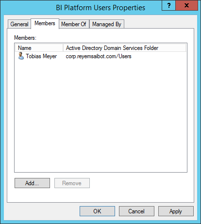 Active Directory add user to group