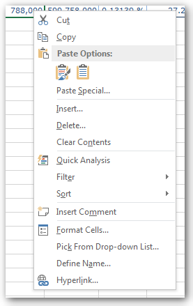 SAP Analysis for Office: Parameter False
