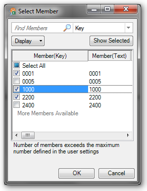 Analysis for Office Uploaded Members by Textfile