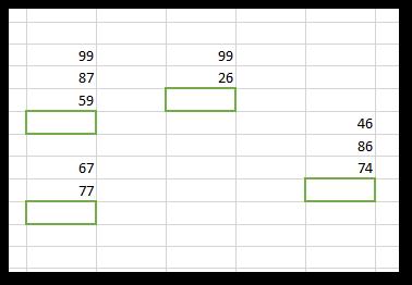 Excel ranges