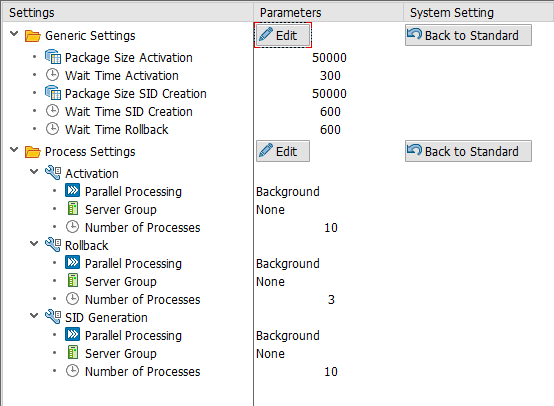 DataStore Object adapted settings