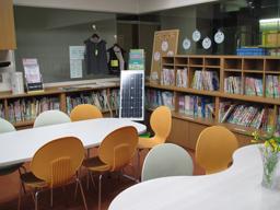 図書コーナー 写真