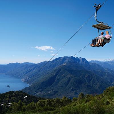 Locarno - Cimetta Chairlift