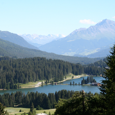 Lenzerheide - High valley - Heid lake