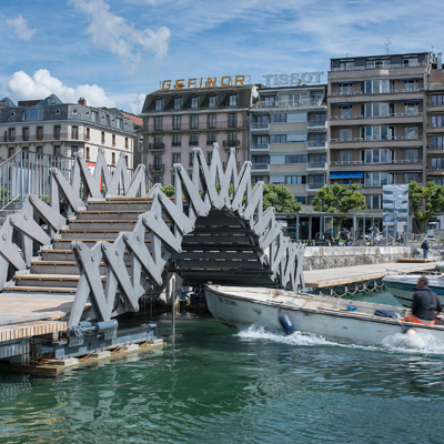 Geneva - movable bridge