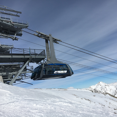 Lenzerheide / Arosa - connection between the 2 sections