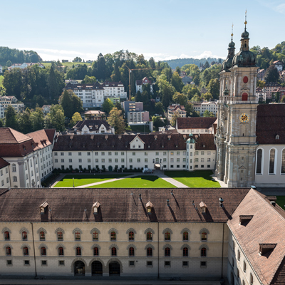 St. Gall - Abbey Cathedral - UNSECO