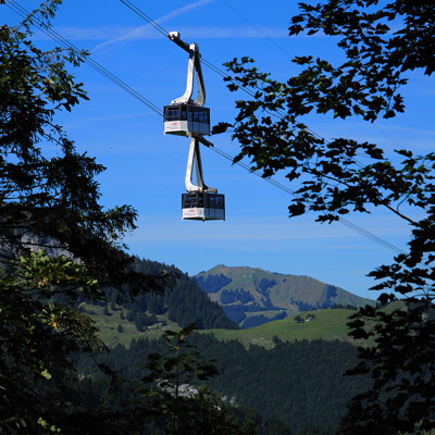 Mount Hoher Kasten - Cable car