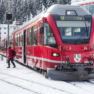 Arosa - RhB train