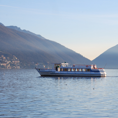 Cruise on the lake Lugano