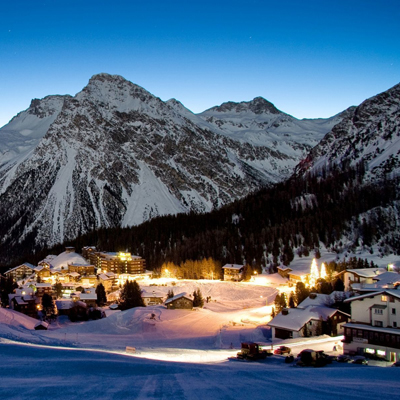 Arosa - by night