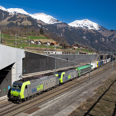 BLS Lötschberg base tunnel
