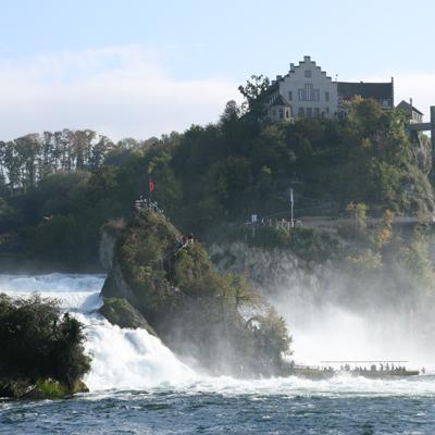 Rhine Falls - largest waterfall in Europe