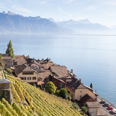 St. Saphorin - Weinberge Lavaux - UNSECO