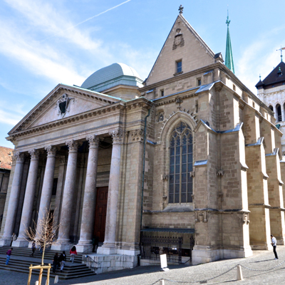 Geneva - St. Peters Cathedral