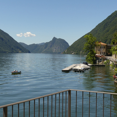 Lake Lugano - Mount San Salvatore