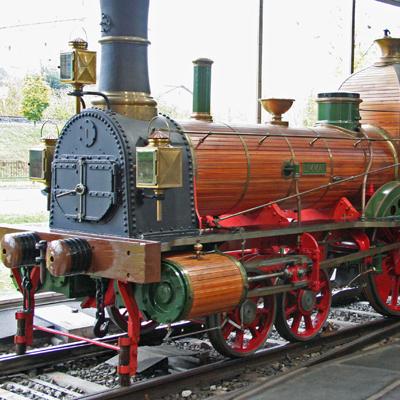 "Lucerne - ""Spanisch-Brötli_Bahn"" oldest Steam Engine"