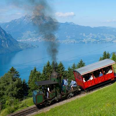 Vitznau - Rigi Steam train
