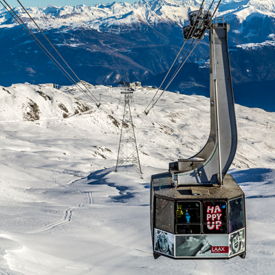 Laax - between Grap Sion Gion and Grap Masegn