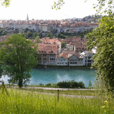 Berne - Aare River & Old Town