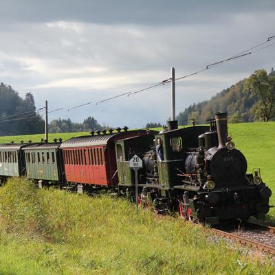 Bauma - Steam Train