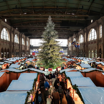 Zurich - Christmas Market - Main station
