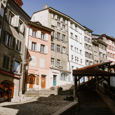 Lausanne - Old Town