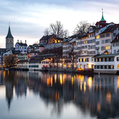 Zurich - River Limmat