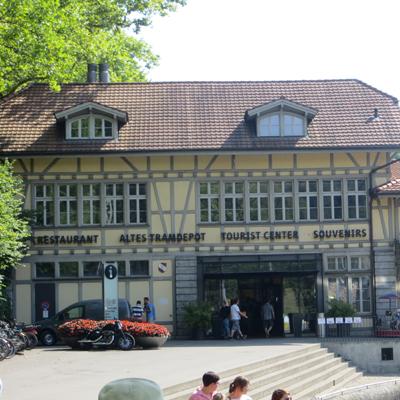 Berne - Restaurant Tram Depot