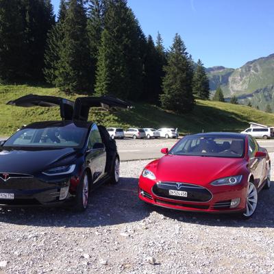 Tesla X and S