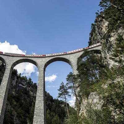 Albula Line - Landwasser Viaduct UNESCO