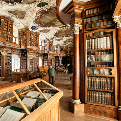 St. Gall - Abby Library - UNESCO