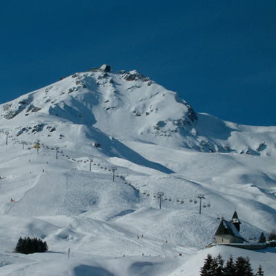 Arosa - Ski run Weisshorn